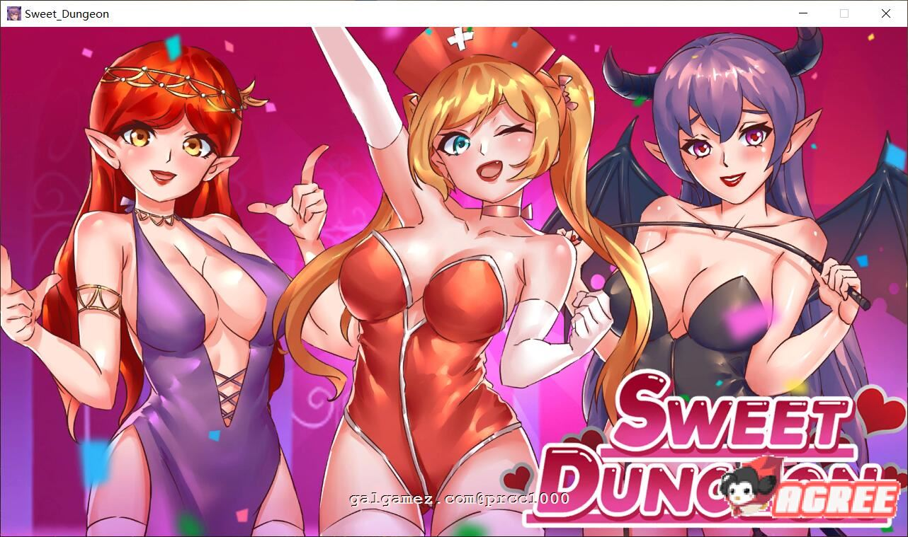 [ACT/中文/全动态]甜心地牢~Sweet Dungeon 官方中文步兵版[新作/全CV][450M]